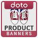 HTML5 E-Commerce Banners - GWD - 7 Sizes (Elite-CC-106)