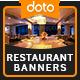 Restaurant HTML5 Banners - GWD - 7 Sizes (Elite-CC-104)