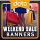 Weekend Sale HTML5 Banners - GWD - 7 Sizes (Elite-CC-101)