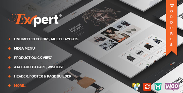 Expert – Clean eCommerce WordPress Theme