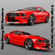 Red Stang 3D Renders - GraphicRiver Item for Sale