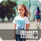 Kids T-Shirt Mock-Up - GraphicRiver Item for Sale