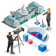 Election Infographic Us Capitol Vector Isometric Building - GraphicRiver Item for Sale