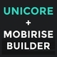 Unicore - Mobirise Builder with 20 HTML Bootstrap Landing Page Templates Nulled