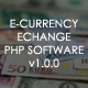 E-CURRENCY EXCHANGE v1.0.0 - CodeCanyon Item for Sale