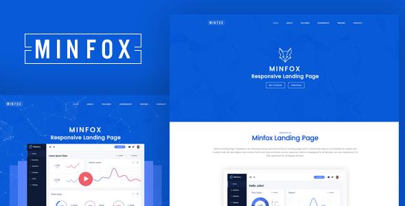 Minfox – Multipurpose Landing Page Template