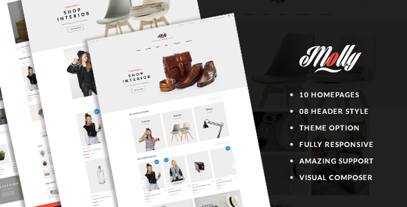 Molly – Responsive WooCommerce WordPress Theme