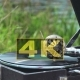 Old Record Spinning on a Real Gramophone. Retro Style - VideoHive Item for Sale