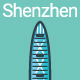 Line Flat Shenzhen Banner - GraphicRiver Item for Sale