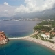 Aerial View Of Resort Area In Montenegro - VideoHive Item for Sale