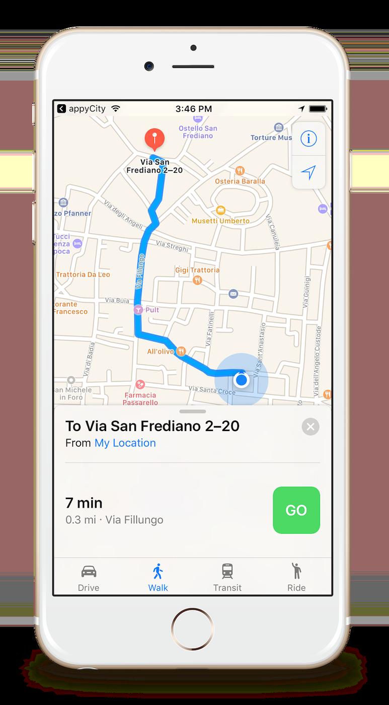City Map App on