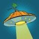 Pumpkin Halloween UFO - GraphicRiver Item for Sale