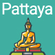 Line Flat Pattaya Banner - GraphicRiver Item for Sale