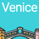 Line Flat Venice Banner - GraphicRiver Item for Sale