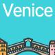Line Flat Venice Banner - GraphicRiver Item for Sale