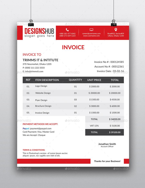 High Quality ... Invoice 04 Screenshort LetterHead ... Intended Invoice Letterhead