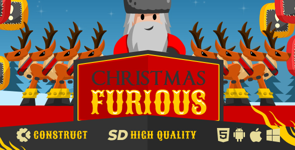 Game Christmas Furious - CodeCanyon Item for Sale