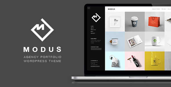 Modus – Portfolio WordPress Theme