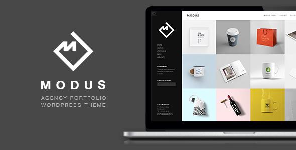 Modus - Portfolio WordPress Theme