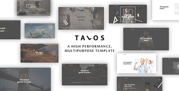 Talos – Creative Multipurpose HTML Template