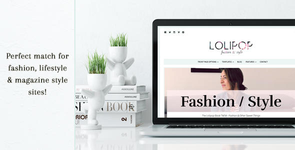 Lolipop – Fashion WordPress Theme