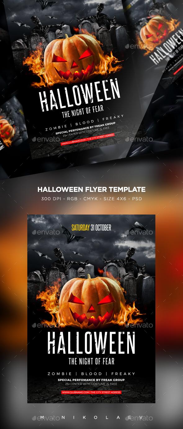 Halloween Flyer V21
