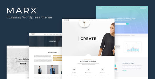 Marx – Responsive Creative & Multi-Purpose WordPress Theme