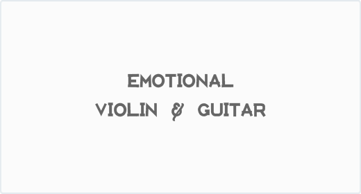Emotional Violin and Guitar