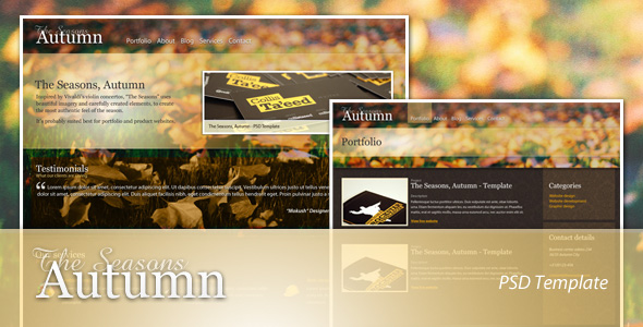 Free Download The Seasons - Autumn Nulled Latest Version
