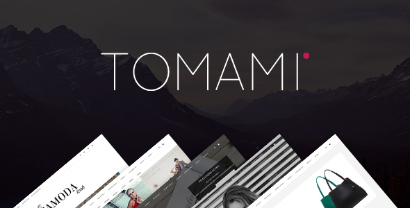 TOMAMI – Multi-Purpose HTML5 Template