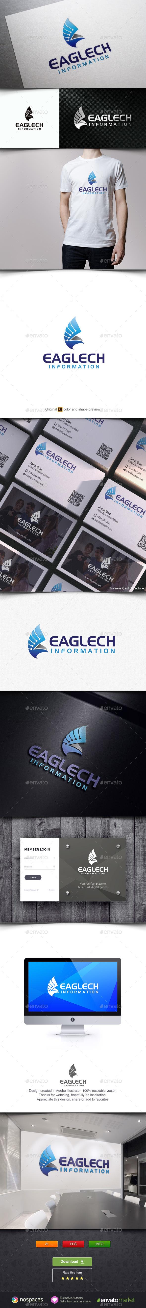 Eagle Tech - Animals Logo Templates