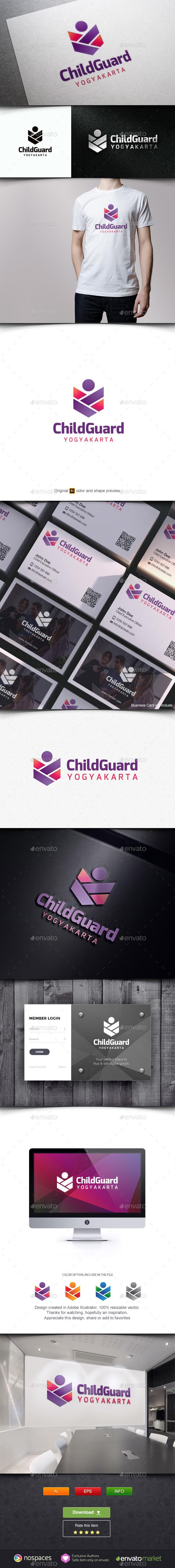 Child Guard Logo - Humans Logo Templates