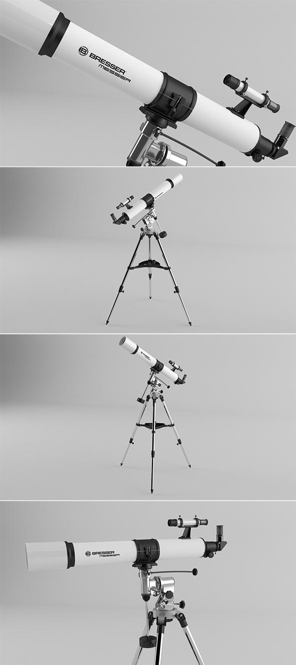 Telescope - 3DOcean Item for Sale