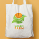 Green Farm Logo - GraphicRiver Item for Sale