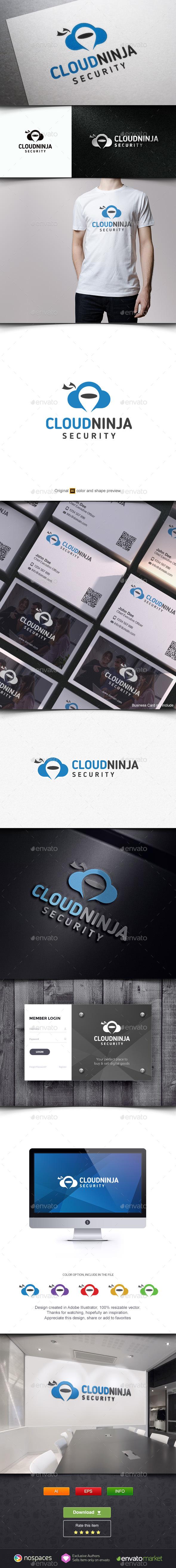 Cloud Ninja Logo - Objects Logo Templates