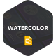 Watercolor - Google Slide - GraphicRiver Item for Sale
