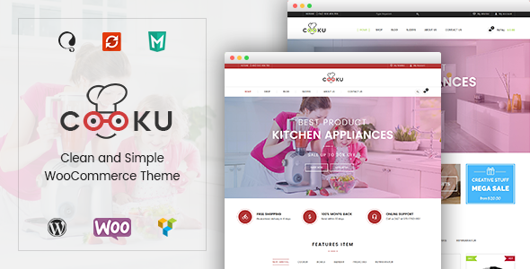 VG Cooku – Clean, Simple WooCommerce WordPress Theme
