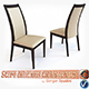 Chair CORTINA OLIVO & GODEASSI - 3DOcean Item for Sale