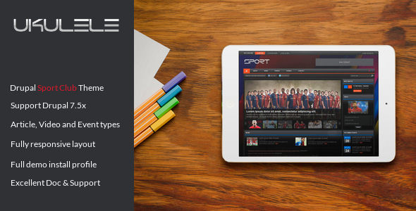 Image of Ukulele - Sport Club Drupal Theme