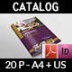 Catering Brochure Template - 20 Pages - GraphicRiver Item for Sale