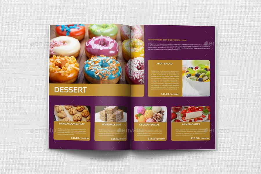 Catering brochure template 20 pages by owpictures graphicriver catering brochure template 20 pages saigontimesfo
