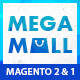 MegaMall- Multi-purpose & Supermarket Magento 1.9 & Magento 2.1 Theme (8 creative Designs) - ThemeForest Item for Sale