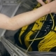 Hands Plug In a Yellow Ethernet Cable - VideoHive Item for Sale