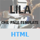 Lila - One Page Parallax Nulled