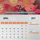 Year Calendar 2017 - GraphicRiver Item for Sale