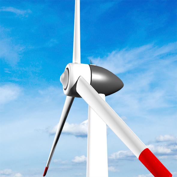 Clean energy / Eolic turbine - 3DOcean Item for Sale