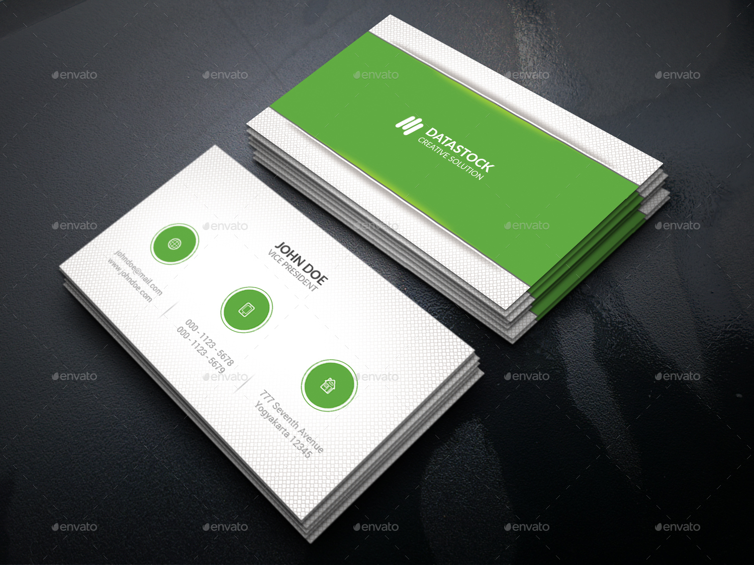 Minimalist Business Card Bundle by GOWES | GraphicRiver