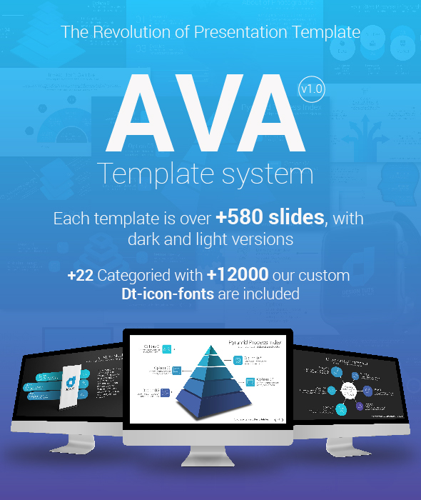 Ava Powerpoint Template System - PowerPoint Templates Presentation Templates