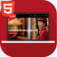 Goldfin Hotel, SPA, Bar- HTML Landing Page Template Nulled