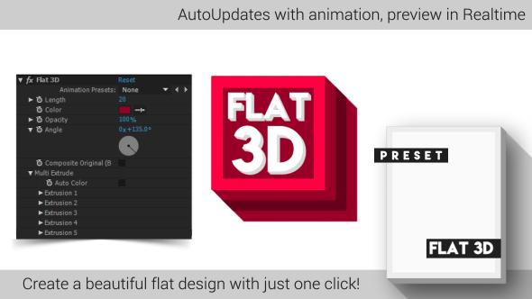 Flat 3D V2
